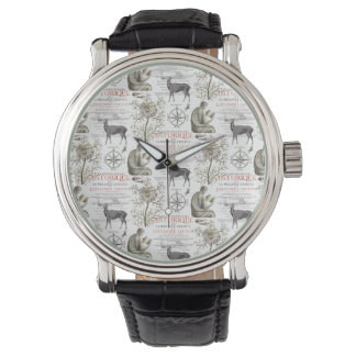 Quest for Knowledge - History and Science Wrist Watches