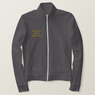 Quest For the Best Black Stallion Embroidered Jack Embroidered Jacket