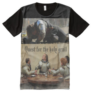 Quest for the holy Grail All-Over Print T-shirt