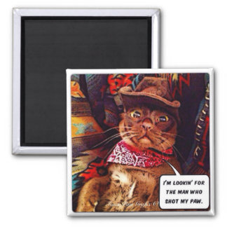 Quest of the West 2 Inch Square Magnet
