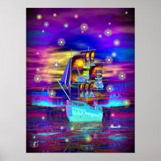 Quest Ship Print