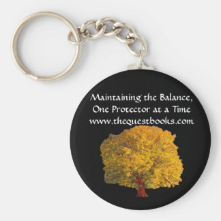 Quest Tree Keyring