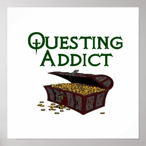 Questing Addict Poster