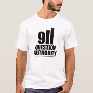 QUESTION AUTHORITY 9/11 T-Shirt