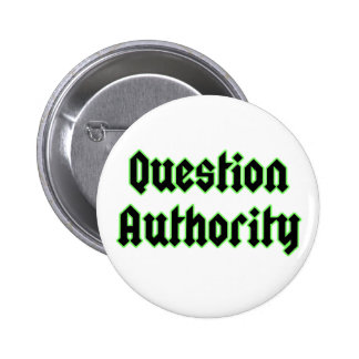 Question Authority Button Badge