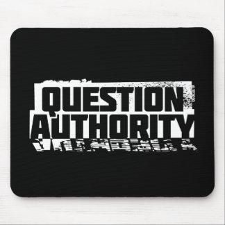QUESTION AUTHORITY MOUSEPADS