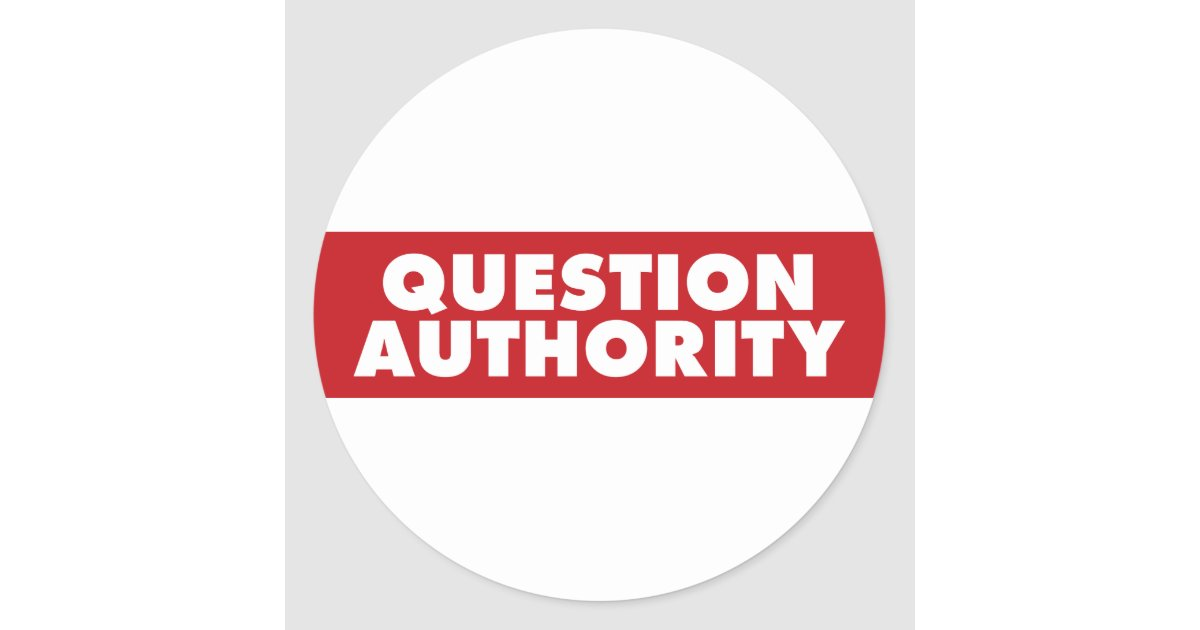 essay question authority Parental authority civil authority a husband's authority pastoral authority what is authority, anyway question authority that was the slogan of a generation.