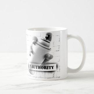 Question Authority - Spray Paint Can - Graffiti Coffee Mug
