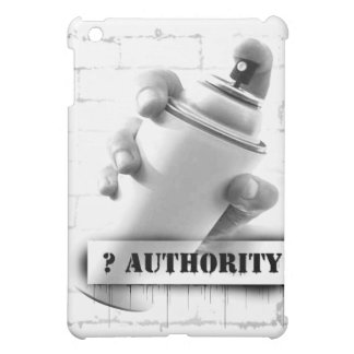Question Authority - Spray Paint Can - Graffiti iPad Mini Covers