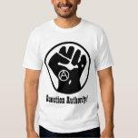 question authority t-shirt