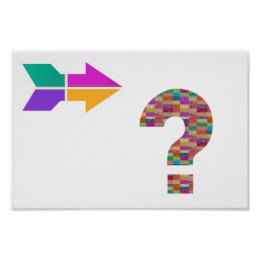 QUESTION enquire eve WISDOM Lowprice RELATE 2WORDS Poster
