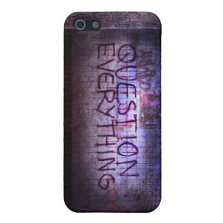 Question Everything! Case For iPhone SE/5/5s