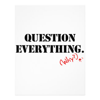 Question Everything Flyer