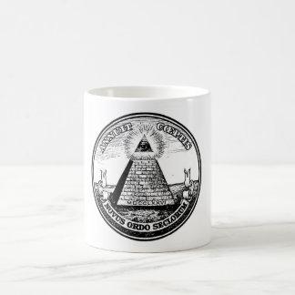 Question Illuminati New World Order Mugs