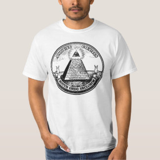 Question Illuminati New World Order Tee Shirt