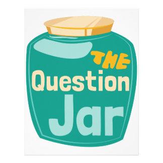 Question Jar Letterhead
