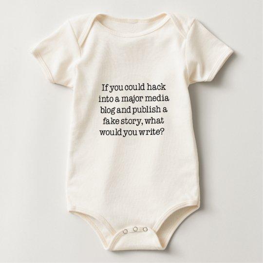 Question:  Lie To Millions Baby Bodysuit