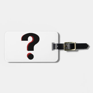 Question Tag For Luggage