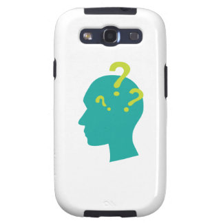 Question Man Samsung Galaxy S3 Cases