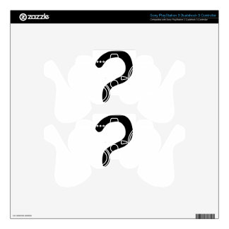 question mark3 skin for PS3 controller