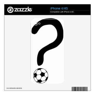 question mark3 skin for the iPhone 4