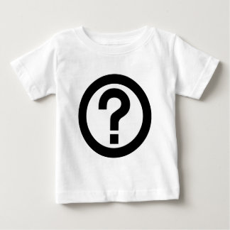 Question Mark Ask Query Symbol Punctuation Baby T-Shirt