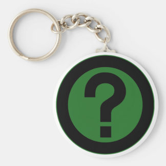 Question Mark Ask Query Symbol Punctuation Keychain