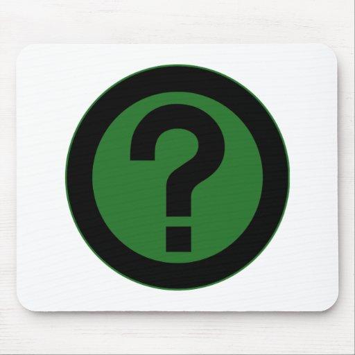 Question Mark Ask Query Symbol Punctuation Mousepad