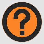 Question Mark Ask Query Symbol Punctuation Sticker