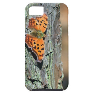 Question Mark Butterfly iPhone SE/5/5s Case