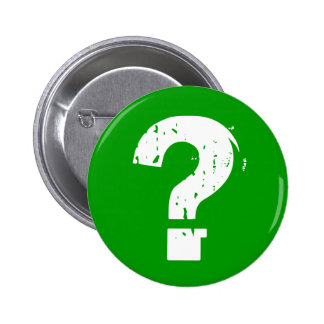 Question Mark Button on Green