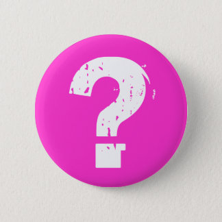 Question Mark Button on Pink