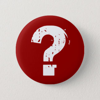 Question Mark Button on Red