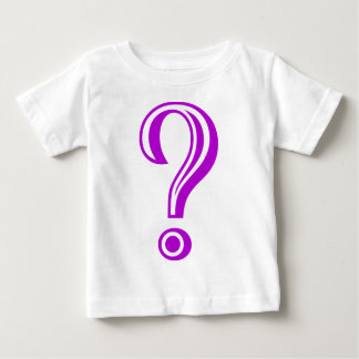 Question Mark Chiseled Baby T-Shirt