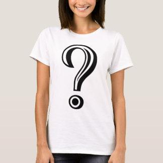 Question Mark Chiseled T-Shirt