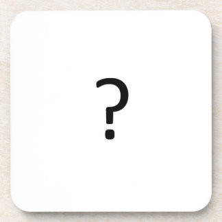 Question Mark Coasters