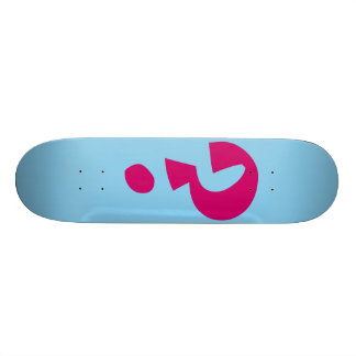Question Mark ? Custom Skateboard