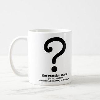 Question Mark Grammar Mug Funny Office Coffee Mug