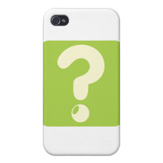 Question Mark Icon iPhone 4 Case
