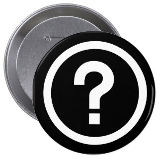 question mark? pins