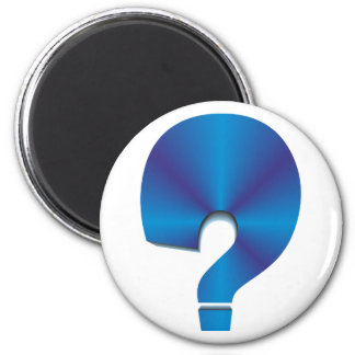 Question mark question Marks Magnet