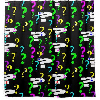 Question Mark Shower CurtainA Shower Curtain