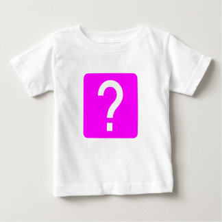 Question Mark Square Panel Baby T-Shirt