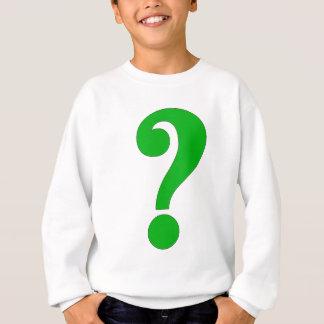 Question mark sweatshirt
