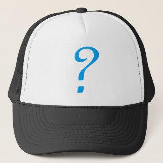 Question Mark Trucker Hat