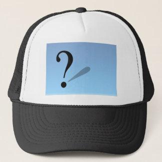 question-mark- trucker hat
