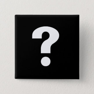 question mark white on black button