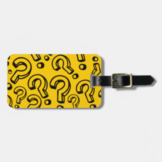 Question Marks Tags For Bags