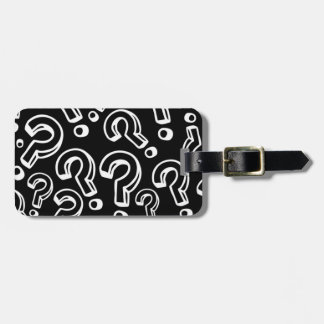 Question Marks Luggage Tags