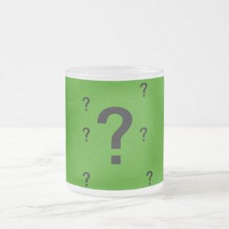 QUESTION MARKS MUG